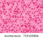 seamless pink triangles pattern ...