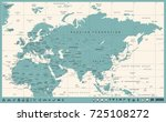 eurasia europa russia china... | Shutterstock .eps vector #725108272