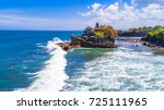 tanah lot   temple in the ocean....   Shutterstock . vector #725111965