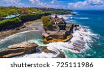 tanah lot   temple in the ocean....   Shutterstock . vector #725111986