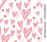 Pink Seamless Pattern With...