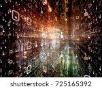 digital city series. background ...   Shutterstock . vector #725165392
