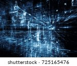 digital city series. artistic... | Shutterstock . vector #725165476