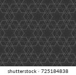 decorative wallpaper design in... | Shutterstock . vector #725184838