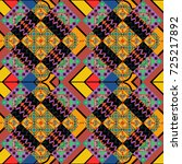 vector repeated oriental motif... | Shutterstock .eps vector #725217892
