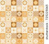 design of decorative tiles.... | Shutterstock . vector #725225065