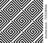 white and black geometric... | Shutterstock .eps vector #725238466