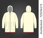 clothes raincoats | Shutterstock .eps vector #725256172