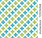 abstract geometric seamless... | Shutterstock . vector #725256568