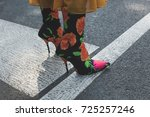 milan  italy   september 22 ...   Shutterstock . vector #725257246