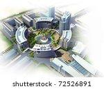 3d building | Shutterstock . vector #72526891