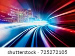 Abstract Motion Speed Railway...