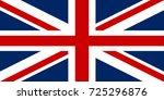 united kingdom flag. great...   Shutterstock .eps vector #725296876