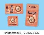 columbus day seasonal holiday...   Shutterstock .eps vector #725326132