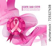 breast cancer awareness month... | Shutterstock .eps vector #725327638