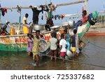 ada foah   ghana   august 11 ... | Shutterstock . vector #725337682