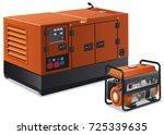 illustration of different type... | Shutterstock .eps vector #725339635