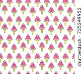 cute kids pattern for girls and ... | Shutterstock . vector #725349952