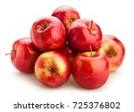 red apple path isolated | Shutterstock . vector #725376802
