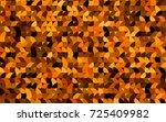 dark orange vector banner with...   Shutterstock .eps vector #725409982