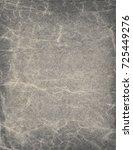 old grey paper sheet. vintage... | Shutterstock . vector #725449276