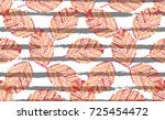elegant seamless pattern with...   Shutterstock .eps vector #725454472