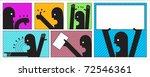 message symbols   Shutterstock .eps vector #72546361