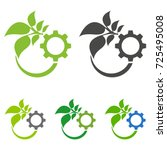 design logo template for... | Shutterstock .eps vector #725495008