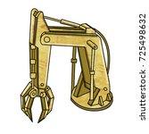 cartoon technical iron...   Shutterstock .eps vector #725498632