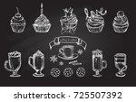 vector illustration. coffee cup ... | Shutterstock .eps vector #725507392