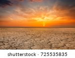 global worming concept  ... | Shutterstock . vector #725535835