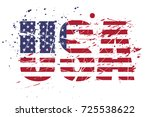 grunge usa   Shutterstock .eps vector #725538622