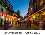 new orleans  usa   march 22 ... | Shutterstock . vector #725581012