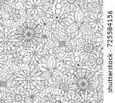 seamless pattern for adult... | Shutterstock .eps vector #725584156