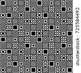 minimalistic vector simple... | Shutterstock .eps vector #725584492