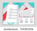 abstract vector layout... | Shutterstock .eps vector #725591956