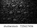 Collection of skulls and bones...