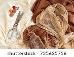 Silk Fabric. Silk  Organza ...