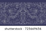 vector seamless pattern.... | Shutterstock .eps vector #725669656