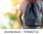 asian student man on gray t... | Shutterstock . vector #725682712