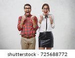 people  happiness and good luck ... | Shutterstock . vector #725688772