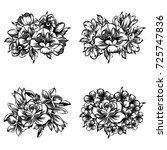 flower set | Shutterstock . vector #725747836