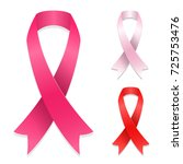 breast cancer awareness vector... | Shutterstock .eps vector #725753476