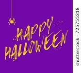 halloween background vector...   Shutterstock .eps vector #725755318