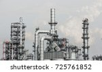 industrial zone the equipment... | Shutterstock . vector #725761852