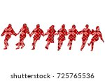 ethnic decoration patterned...   Shutterstock .eps vector #725765536