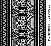 aztec embroidery pattern design ... | Shutterstock .eps vector #725800126
