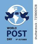 world post day | Shutterstock .eps vector #725800528
