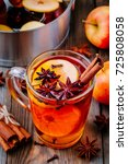 Hot Mulled Apple Cider With...