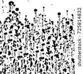 grunge black white. abstract...   Shutterstock . vector #725814832